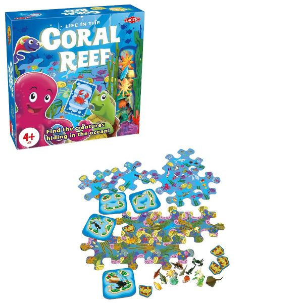 Coral Reef - Family - Kids - Board Game  - By Tactic Games